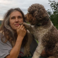 Ich mit meinem Herzbubi Furbo